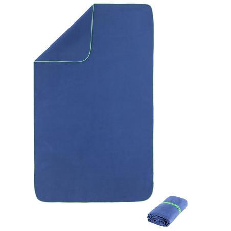 Ultra-compact microfibre towel size XL 110 x 175 cm - Dark Blue