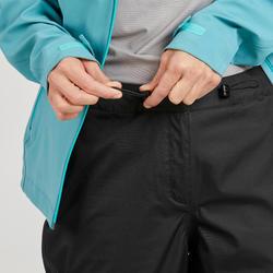 Surpantalon imperméable de randonnée montagne femme MH500 Noir