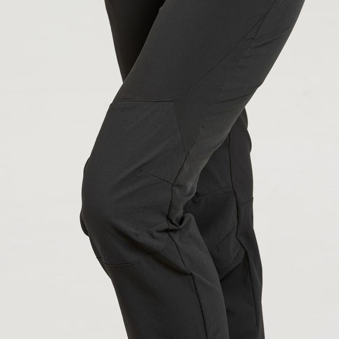 Pantalon de randonnée montagne Femme MH500 Noir