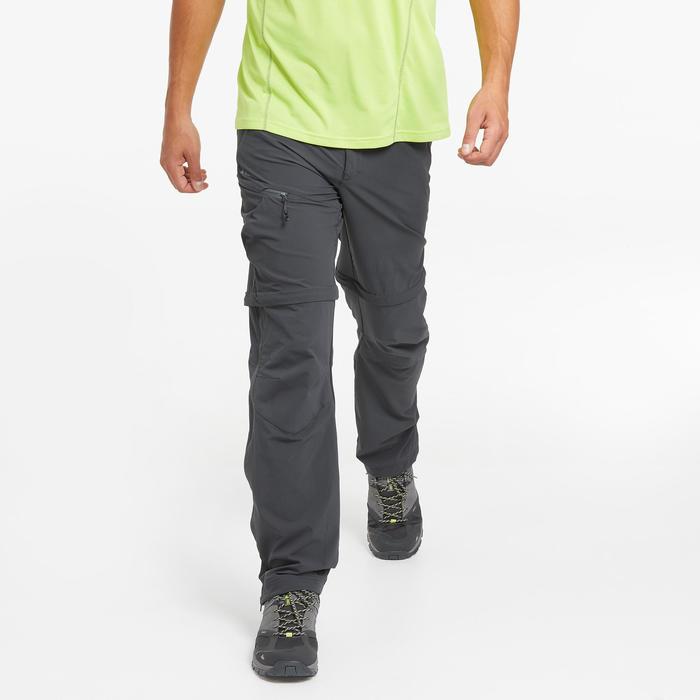 Pantalon modulable de randonnée montagne - MH550 - Homme