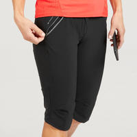 MH500 Cropped Mountain Hiking Bottoms - Women