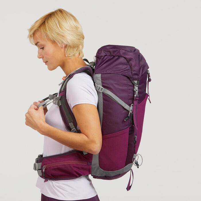 Mochila de Montaña y Trekking MH500 20 Litros Mujer Violeta