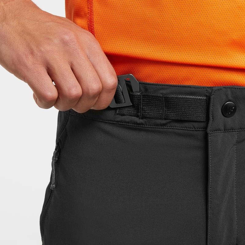 กางเกงขายาวผู้ชายสำหรับใส่เดินป่าบนภูเขารุ่น MH500 (สีกรมท่า)