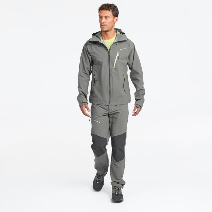 Wanderhose Bergwandern MH500 Herren khaki