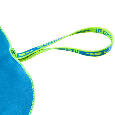 منشفة ميكروفايبر سميكة للغاية مقاس XL 110 x 175 سم - زرقة الصين