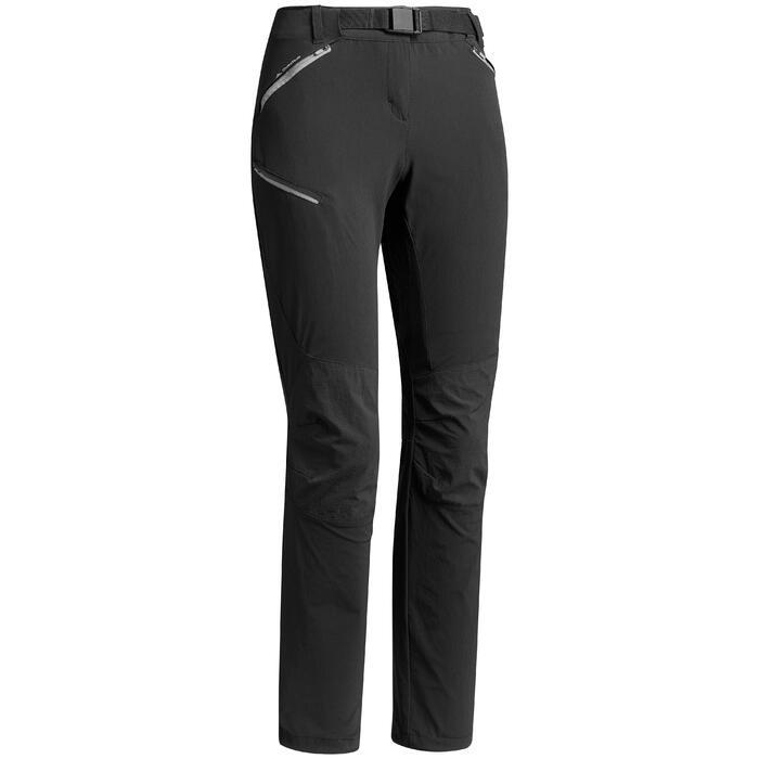 Pantalon de randonnée femme MH500 noir