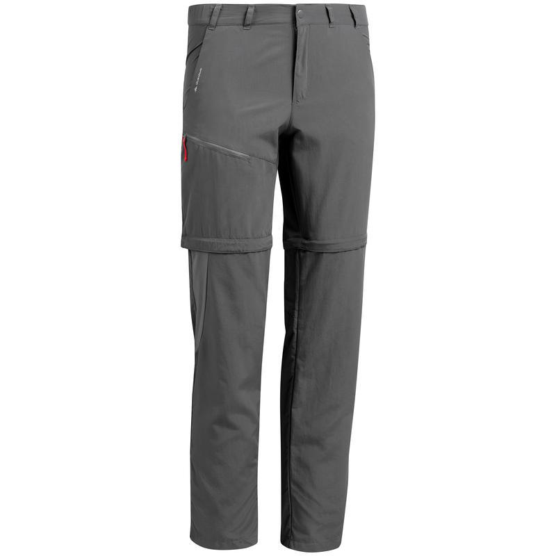 Men's Hiking Pants MH150 (Modular) - Grey