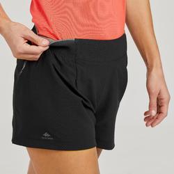 Women's Fast Hiking Shorts FH500 - Black