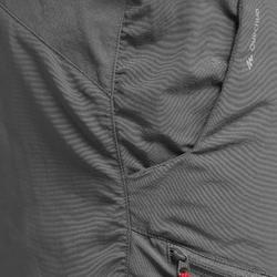 Pantalón de senderismo Montaña MH100 hombre gris