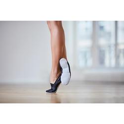 Chaussons de danse modern'jazz en cuir souple adultes T41-42