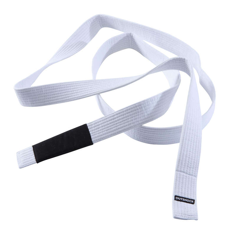 JIU JITSU Martial Arts - BJJ Belt - White OUTSHOCK - Martial Arts