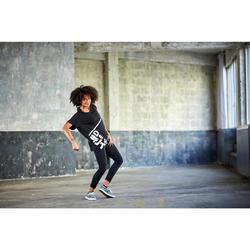 Legging danse urbaine/fitness femme noir