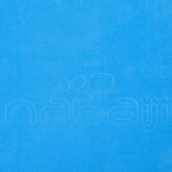 Mikrofaser-Badetuch ultrakompakt Größe XL 110×175cm cyanblau
