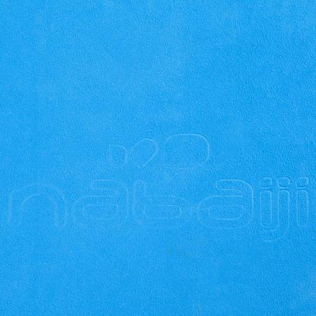 Toalla de microfibra azul cian ultra compacta talla XG 110 x 175 cm