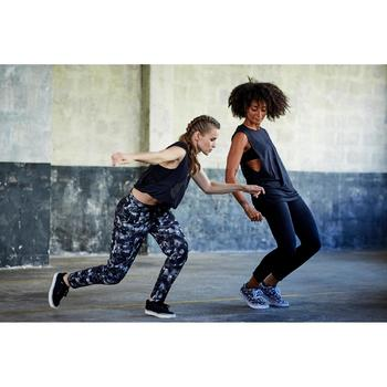 Leggings Street/Fitness Dance Damen schwarz