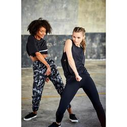 Dames wortelbroek voor streetdance wit