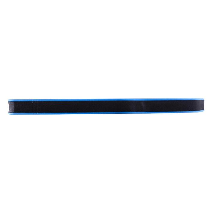 Groot kickboard blauw zwart