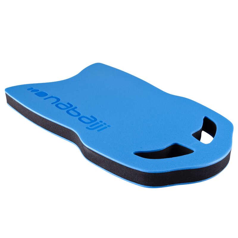 MATERIAL Swimming - SWIMMING KICKBOARD 100 BLUE NABAIJI - Swimming Aids