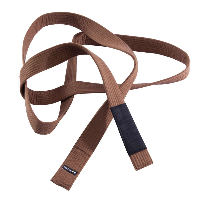JIU JITSU Box és harcművészet - Öv brazil jiu jitsuhoz, barna OUTSHOCK - Harcművészet