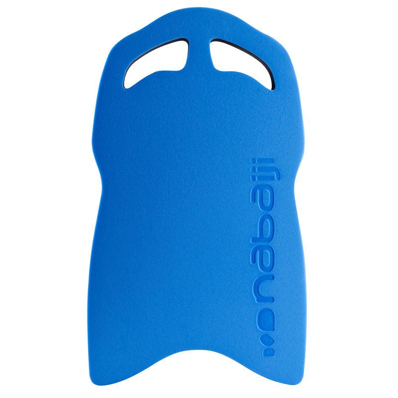 แผ่นโฟมเตะขาขนาดใหญ่สำหรับสระว่ายน้ำ (สีฟ้า/ดำ)