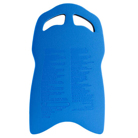 Large Swimming Kickboard Blue Black