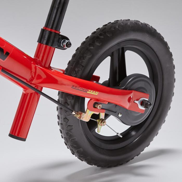 Loopfietsje 10 inch voor kinderen RunRide 520 MTB rood