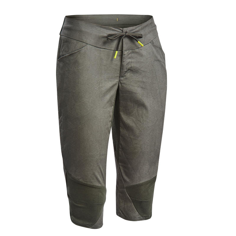 Women's Country Walking Cropped Trousers - NH500-2019