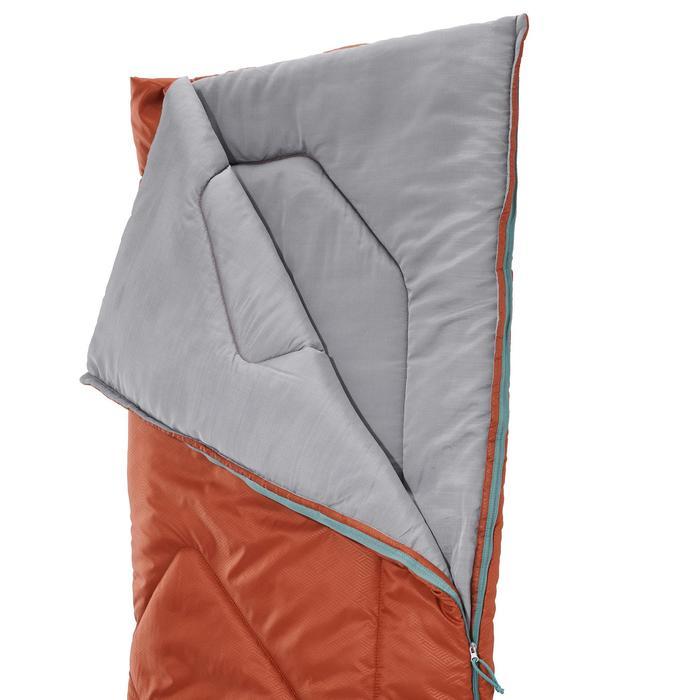 Schlafsack Camping Arpenaz 10 °C braun