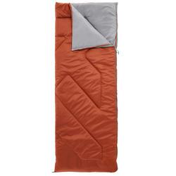 Campingschlafsack Arpenaz 10 °C braun