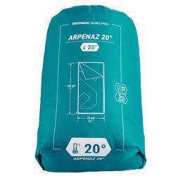 SACO DE DORMIR CAMPING - ARPENAZ 20°