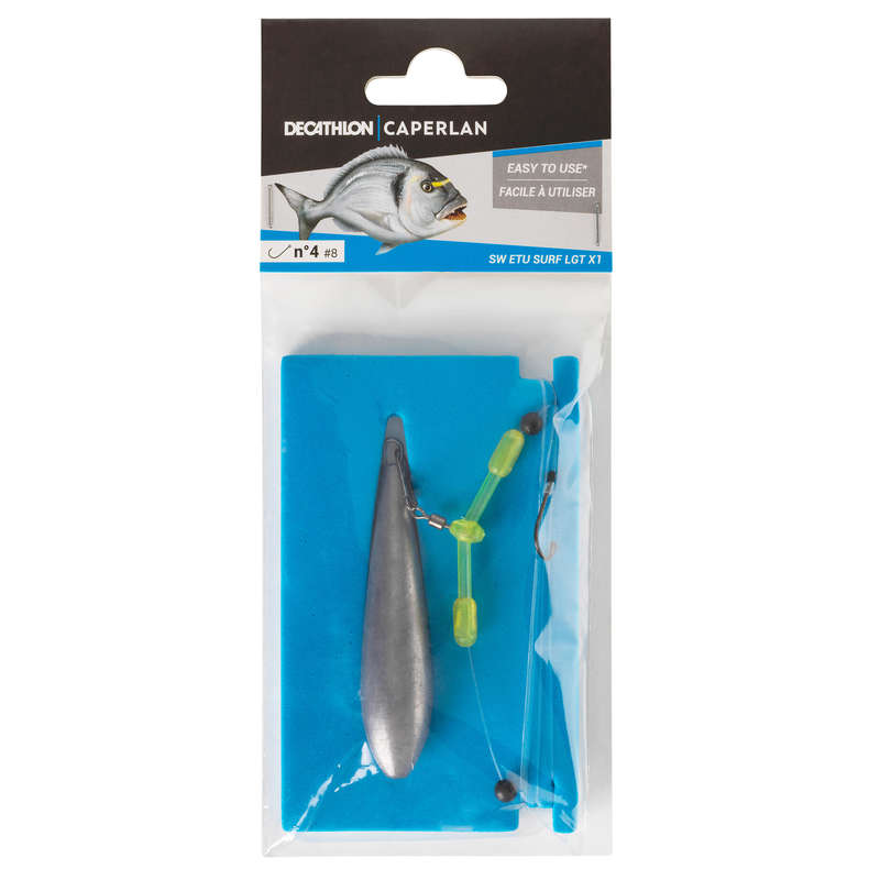 SURFCASTING RIGGED LINES Fishing - LEADER SW ETU SURF LGT CAPERLAN - Fishing