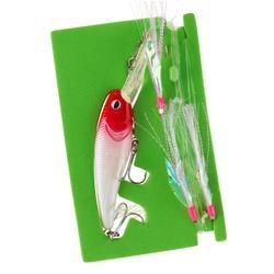 Bas de ligne train de plume et poisson nageur spécial traine SW RTC TROL & LF