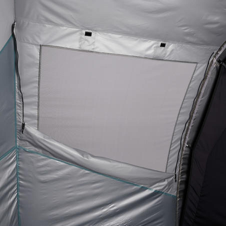 Tenda Inflatable Air Second 4.1 Fresh & Black 4 orang - 1 Ruang Tidur