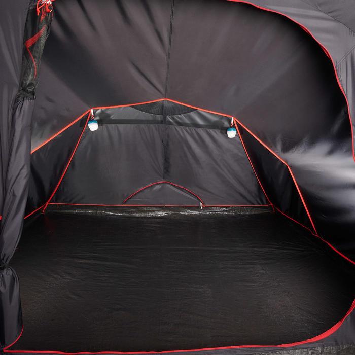 Slaapcompartiment voor Quechua-tent Air Seconds Family 4.1 XL Fresh & Black