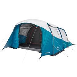 Tent 5 personen met bogen ARPENAZ 5.2 FRESH&BLACK - 2 slaapcompartimenten