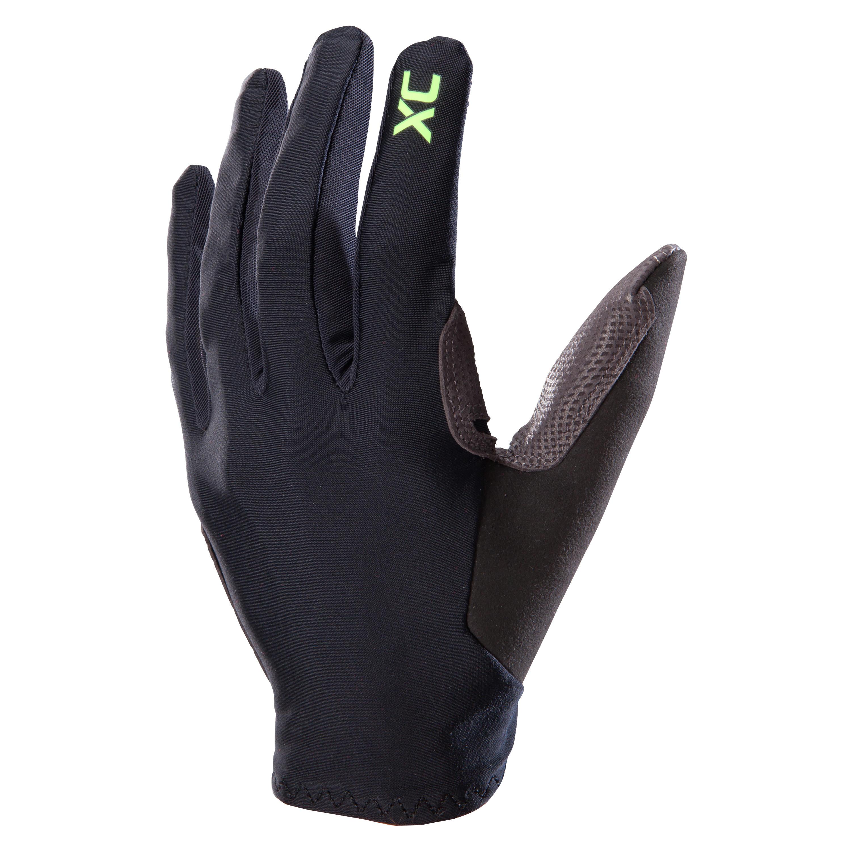 Mănuși ciclism MTB XC Negru imagine