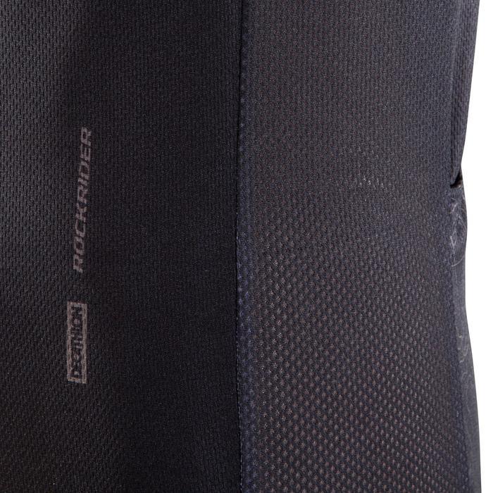 Kurzarm-Radtrikot MTB XC 100 schwarz