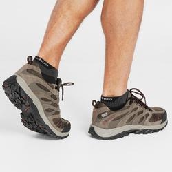 Zapatillas de senderismo montaña hombre Columbia Redmond impermeables Marrón