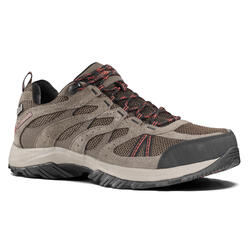 Redmond Mens Waterproof Walking Shoes - Brown