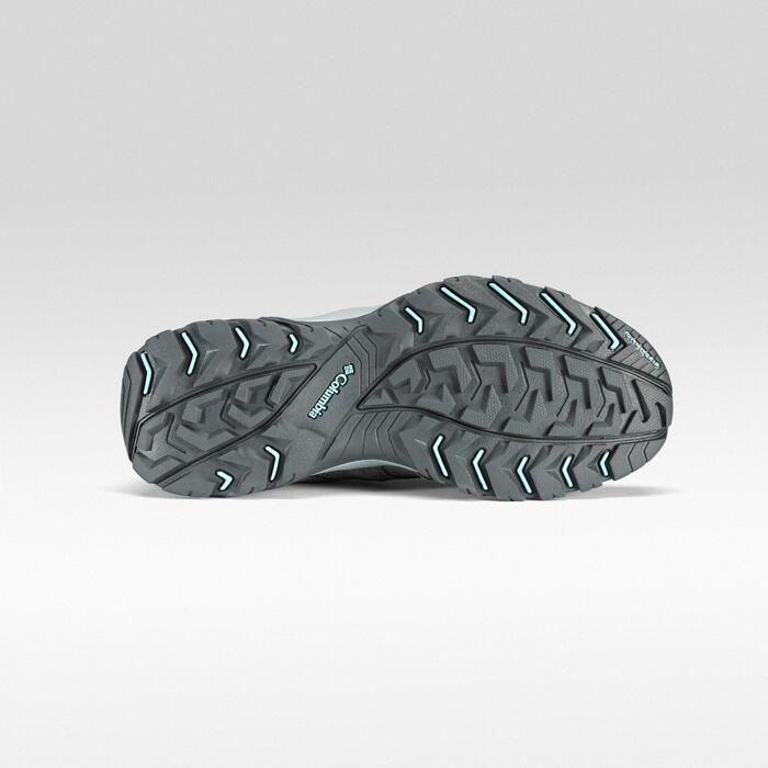 Waterdichte bergwandelschoenen voor dames Redmond grijs