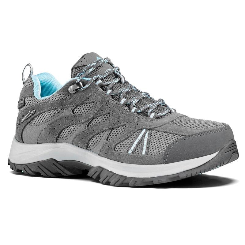Zapatillas Impermeables de Montaña y Trekking, COLUMBIA, REDMOND, Mujer, Gris