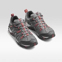 Crosslander Mens Walking Shoes - Brown