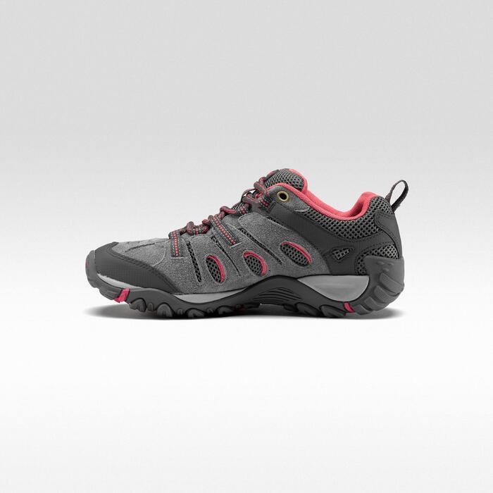 Bergwandelschoenen voor dames Merrell Crosslander grijs/roze
