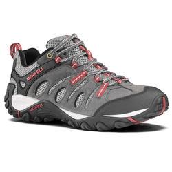 Zapatillas de senderismo montaña hombre Merrell Crosslander gris