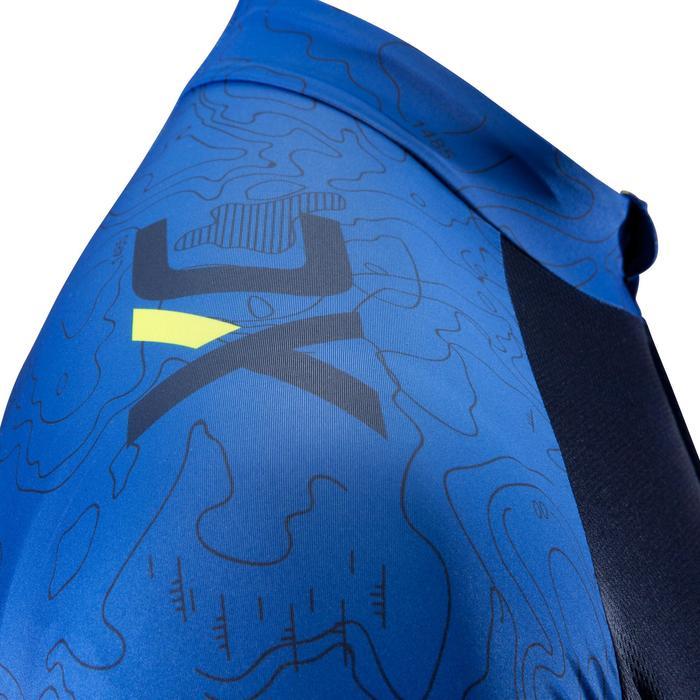 Maillot de manga corta XC 100 azul