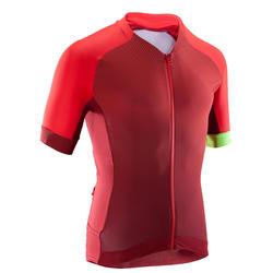 Fahrradtrikot MTB XC Light Herren rot