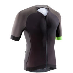 MTB-shirt XC Light heren zwart/grijs