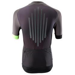 MTB-shirt voor heren XC Light zwart/grijs