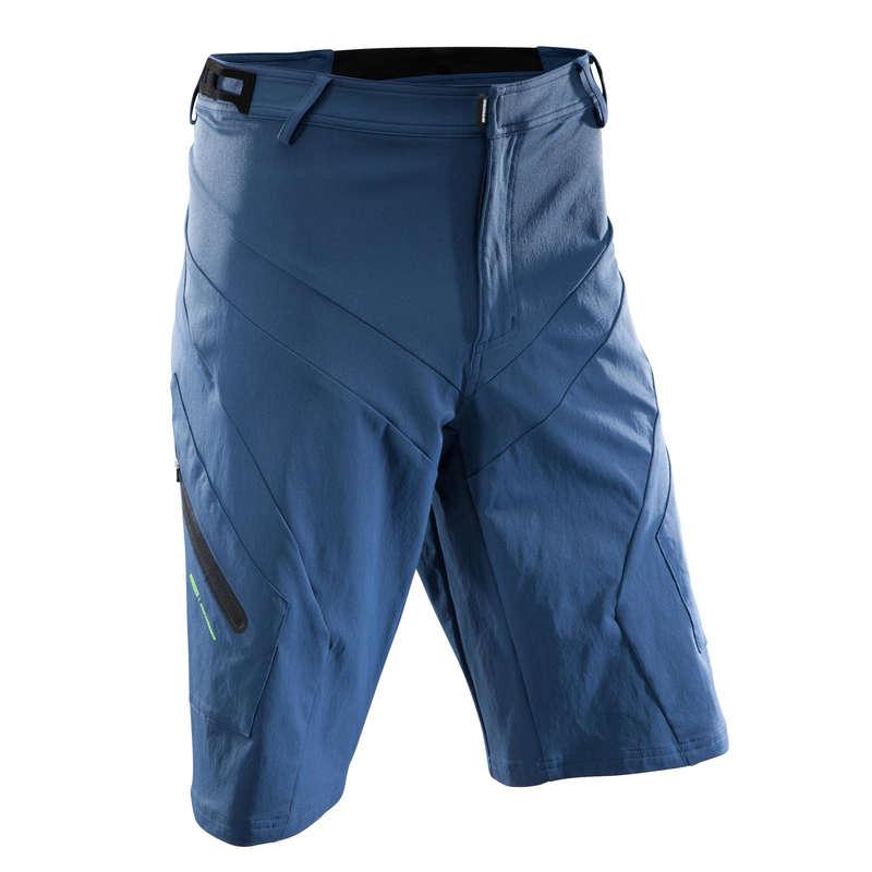 MEN WARM WEATHER ALL MOUNT. MTB APPAREL - AM Mountain Bike Shorts - Blue ROCKRIDER