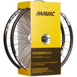 PAIRE DE ROUES VTT 27.5 MAVIC CROSSRIDE DISC 9X135 9X100 / 15X100MM
